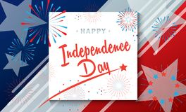 Independence Day fireworks national festival Royalty Free Stock Photography
