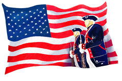 Independence Day Flag Royalty Free Stock Photography