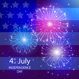 Independence day flag Royalty Free Stock Images