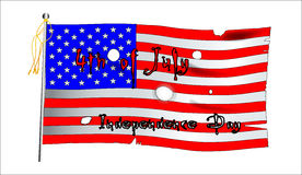 Independence Day Flag stock photography