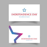 Independence day Fourth of July Royalty Free Stock Photos
