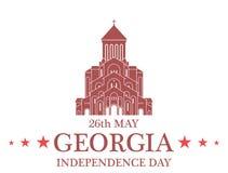 Independence Day. Georgia Stock Photos