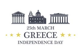Independence Day. Greece Royalty Free Stock Images