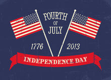 Independence Day Greeting Card Royalty Free Stock Image