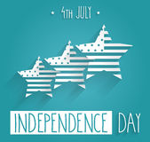 Independence Day hand drawn. 4th Of July Royalty Free Stock Photos