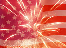 Independence Day holiday background Royalty Free Stock Images