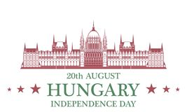 Independence Day. Hungary Stock Photos