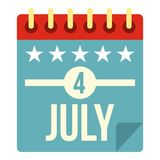Independence day icon  Royalty Free Stock Photography