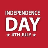 INDEPENDENCE DAY IMAGE WITH 4TH JULY. USE IT FOR BACKGROUND IMAGE AND ALSO PROMOTE ON SOCIAL MEDIA Royalty Free Stock Image