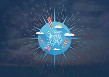 Independence Day_Independence Day_0063 Royalty Free Stock Photo