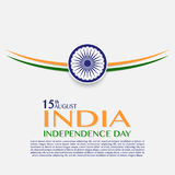 Independence Day of India. 15 th of August. Illustration of grungy Indian Flag for Indian Independence Day. vector indian flag made with color strokes in Stock Image