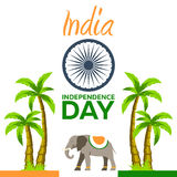 Independence day of India. Vector illustration. 15th August. Independence day of India. Vector illustration. 15th August Royalty Free Stock Photo