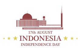 Independence Day. Indonesia Royalty Free Stock Image