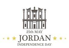 Independence Day. Jordan. Vector illustration EPS Stock Image