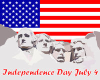 Independence Day July 4 Stock Photography