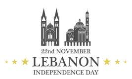 Independence Day. Lebanon Royalty Free Stock Image
