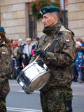 Independence Day, Lublin, Poland Stock Images
