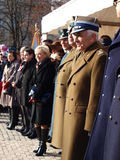 Independence Day, Lublin, Poland. Military and municipal authorities at the celebrations of the Independence Day, 11th November, 2011, Lublin, Poland royalty free stock photos