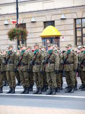 Independence Day, Lublin, Poland Royalty Free Stock Image