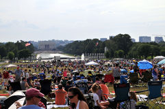 Independence Day on the Mall Royalty Free Stock Photo