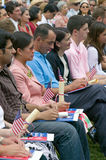 Independence Day Naturalization Ceremony Stock Photography