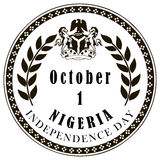 Independence Day of Nigeria Stock Images