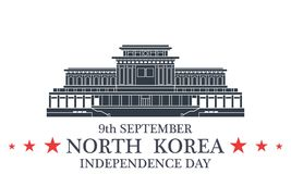 Independence Day. North Korea Royalty Free Stock Photos