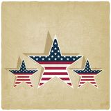 Independence day old background Royalty Free Stock Photos