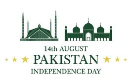 Independence Day. Pakistan Royalty Free Stock Images