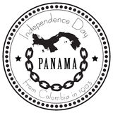 Independence Day Panama Stock Images