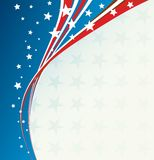 Independence Day patriotic background Royalty Free Stock Images
