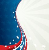 Independence Day patriotic background Royalty Free Stock Photos