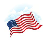 Independence Day patriotic background Stock Photos