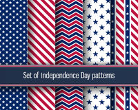 Independence day patterns Royalty Free Stock Photo