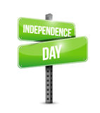 independence day post sign illustration design Stock Photos