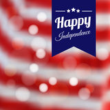 Independence day poster,  background Royalty Free Stock Image