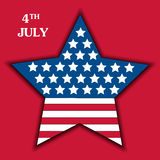 Independence Day Poster, 4th of July - 2 Stock Photos
