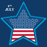 Independence Day Poster Royalty Free Stock Photos