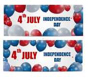 Independence Day Poster Vector Illustration Stock Photography