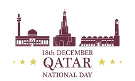 Independence Day. Qatar Stock Photo