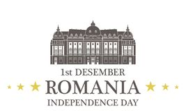 Independence Day. Romania Stock Image