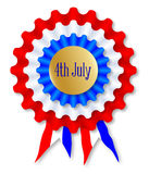 Independence Day Rosette Royalty Free Stock Images