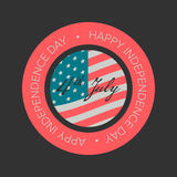 Independence day sale banner Royalty Free Stock Photos