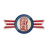 Independence Day Sale circle Banner Stock Photos