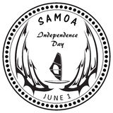 Independence Day Samoa Stock Images