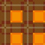 Independence Day of Scotland. 24 June. Scottish orange tartan. Independence Day of Scotland. 24 June. Concept of a national holiday. Scottish orange tartan Stock Photography