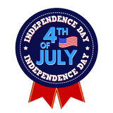 Independence Day stamp Royalty Free Stock Images