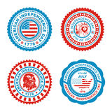 Independence Day Stamp Stock Photography