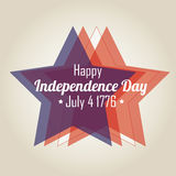 Independence day stars Royalty Free Stock Photography