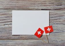 Independence day Switzerland, August 1. Federal holiday in honor of the founding of the Swiss Confederation. the concept of. AUGUST 01 Concept independence day stock photo